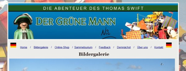 Read the site in German!